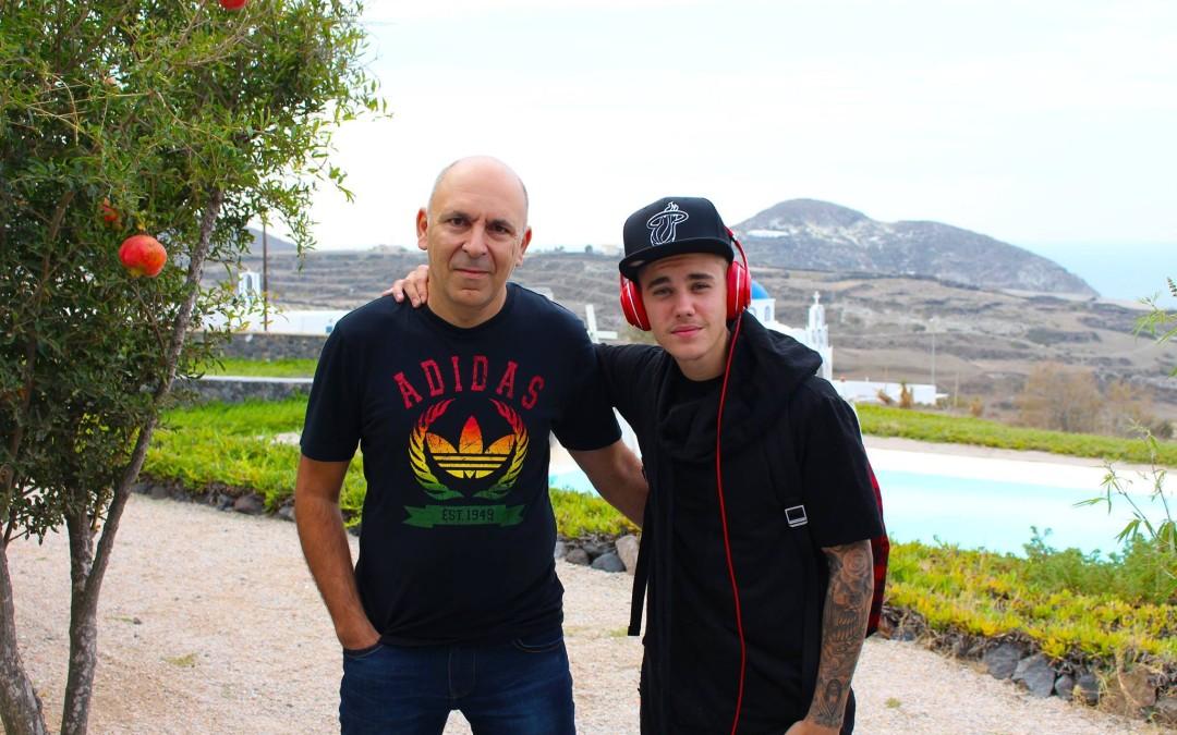 Justin Bieber @ Black Rock Studios