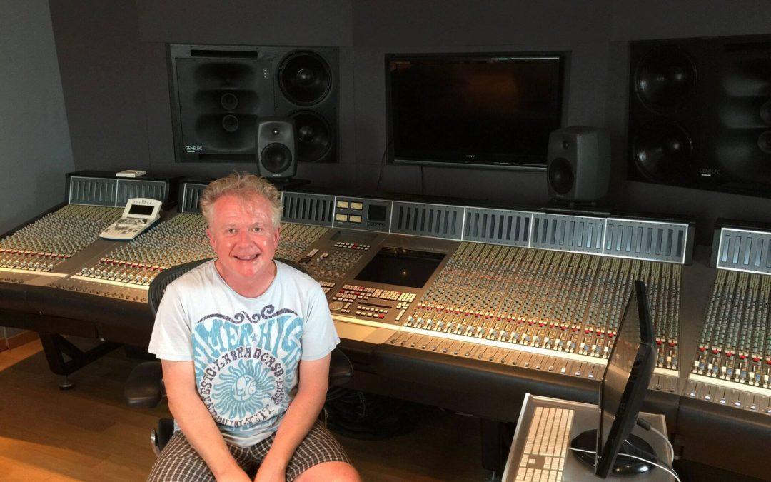 Howard Jones, Genelec International Project Manager at the studio